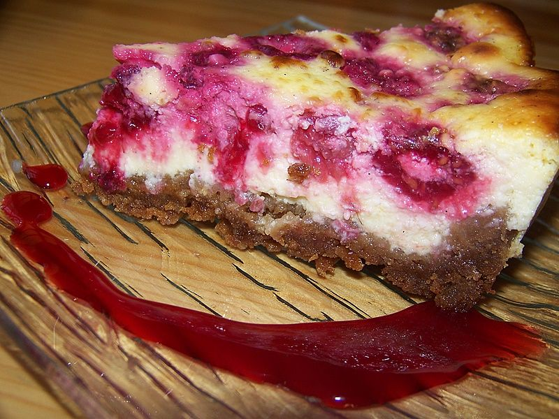 Cheesecake Aux Framboises dans Dessert 34284004